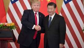Trump urges Xi to work 'hard' and fast on North Korea
