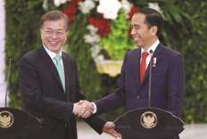 S Korea's Moon unveils new focus on Southeast Asia