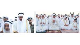 Emir performs Istisqaa prayer