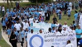 The Annual Diabetes Walkathon at Oxygen Park by QDA