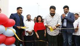 Mollywood superstar Mohanlal opens Music Lounge in Doha