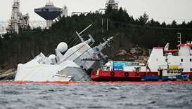 Norwegian frigate that collided with tanker had been warned to turn