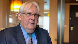 United Nations Special Envoy to Yemen Martin Griffiths