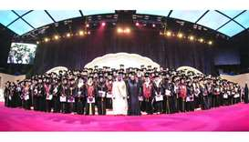QU graduation ceremony