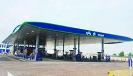 The Mesaimeer South petrol station