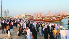 The Katara Traditional Dhow Festival has been attracting a large number of visitors since its incept