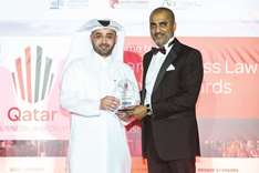 QFC chief legal officer wins 'General Counsel of the Year' award