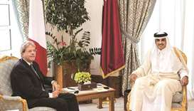 Amir's visit to Italy a culmination of bilateral strategic relations