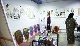 The Fire Station hosts 'Open Studio' for 18 artists