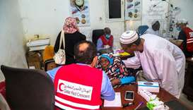 QRCS eye treatment in Sudan
