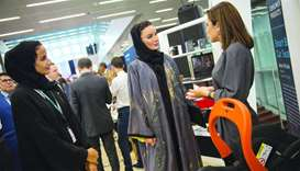 Her Highness Sheikha Moza bint Nasser, Chairperson of Qatar Foundation, attended the Stars of Scienc