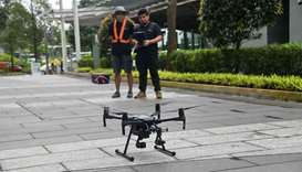 From parcel delivery to security, Singapore bets big on drones