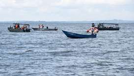 22 dead, scores feared drowned after Uganda boat sinks