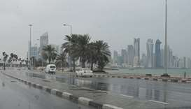 Thundershowers, strong winds expected on Thursday