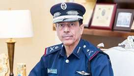 HE Director General of Public Security Staff Major General Saad bin Jassim al-Khulaifi