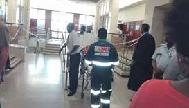 Durban Magistrates court  shooting.