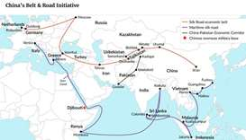 China's Belt and Road plan