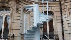 Piece of Eiffel Tower staircase sells for 169,000 euro in Paris auction