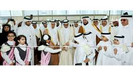 HE the Minister of Culture and Sports Salah bin Ghanem al-Ali inaugurates the 29th Doha Internationa