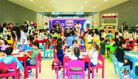 Doha Festival City celebrates first exclusive Kids Club members' party
