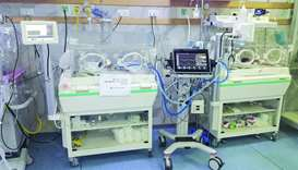 QRCShas supplied a ventilator for newborn and premature babies