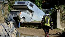 Death toll from Italy storms surges past 30