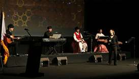 Korean performers enthrall crowd with traditional music