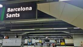 Police detect possible bomb in Barcelona station, evacuate trains