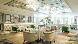 The Great Room at the JW Marriott Grosvenor House is the venue of many prominent awards evenings, ch