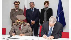 Qatar, Nato agreement signing