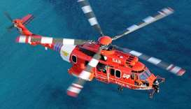 Airbus H225 Super Puma helicopter, operated by South Korea's fire department