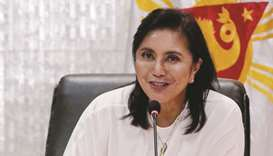 Vice President Maria Leonor Robredo will meet with United States embassy officials to discuss the dr