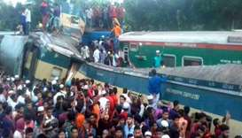 At least 15 killed in train collision in Bangladesh
