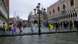 Italy hit by heavy rains, widespread flooding in Venice