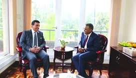 Attorney-General meets chief prosecutor of Kenya