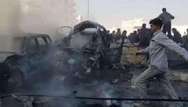 Car bomb kills 14 in northern Syria