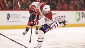 Canadiens use 4-goal 2nd period to storm Capitals