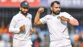 Mohammed Shami (right)