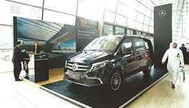 The new Mercedes-Benz V-Class.