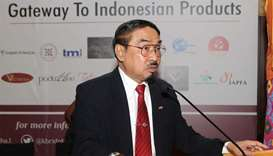 Indonesia launches 1st trade expo in Qatar