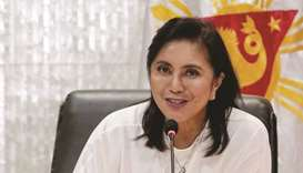 Leni Robredo: warning from government?
