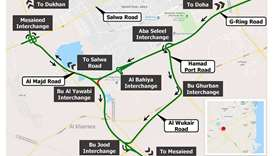 12-hour closure of ramp on Bu Al Yawabi Interchange