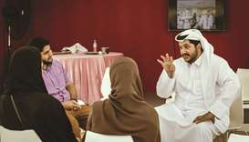 Abdulrahman al-Malki at Doha Learning Days.