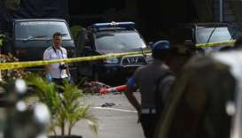 Indonesia police link suicide bombing to IS-inspired group