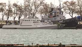 Russia returns seized Ukrainian naval ships