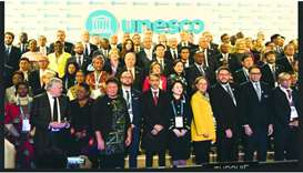 Culture minister participates in Unesco forum in Paris