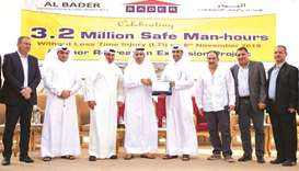 Al Khor Recreation Extension project achieves 3.2mn safe man hours without lost time injury