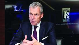 Rolls Royce Motors CEO Torsten Müller-?tv?s talks to Gulf Times.