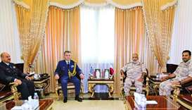 Chief of Staff meets new Greek military attache