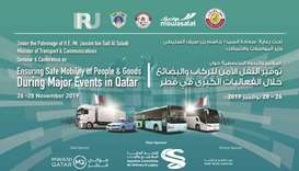 The theme of the three-day event is 'Ensuring safe mobility of people and goods during major events